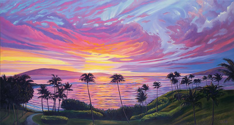 Kapalua Sunset by Christina DeHoff
